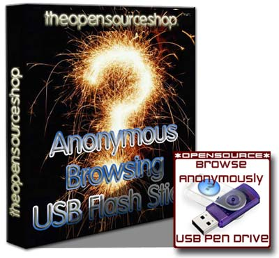 Anonymous Browsing USB Flash
