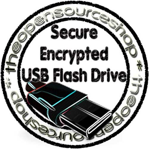 Secure Encrypted USB Flash Drive